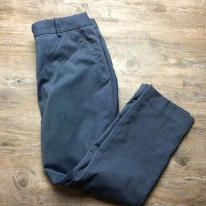 Banana Republic Martin fit blue dress pants
